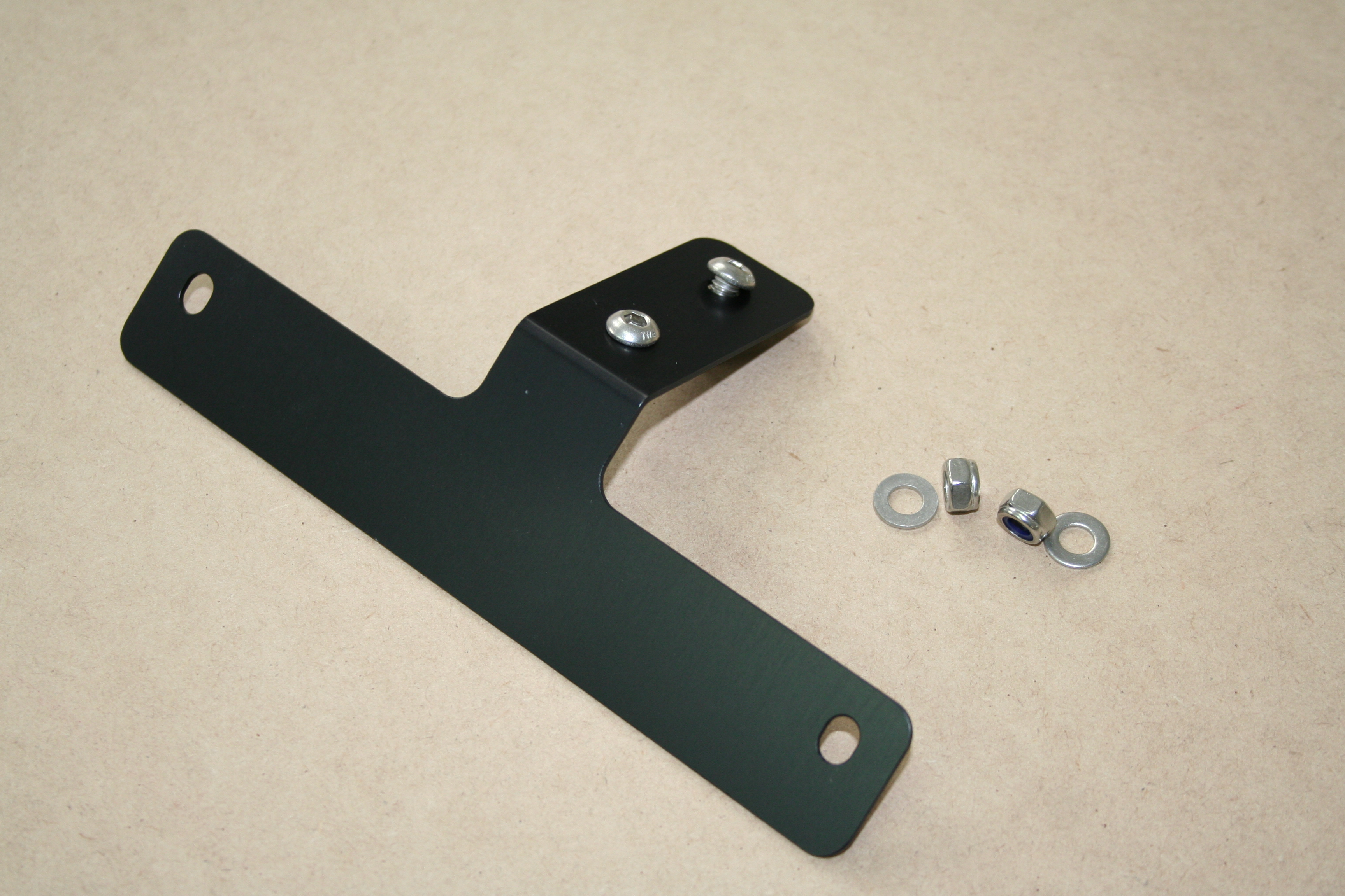 NUMBER PLATE BRACKET $18 & How Much | TRX850 Cafe Racer