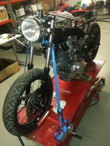 How to build an XV750 Cafe Racer | TRX850 Cafe Racer
