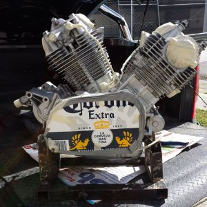 soda blast engine
